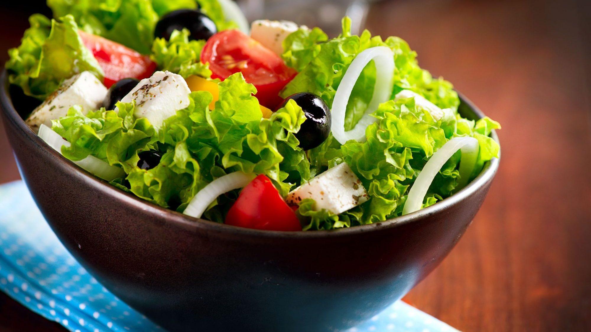 Различные идеи салатов